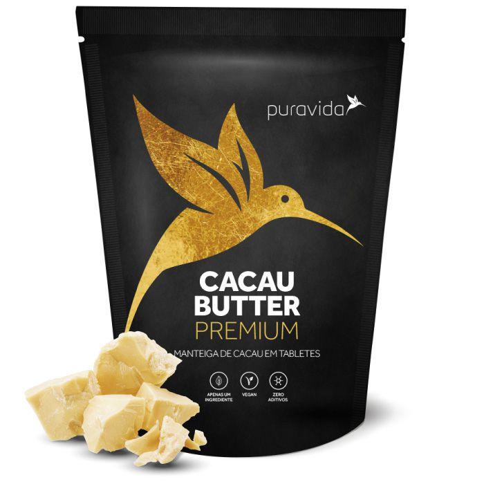 Manteiga de Cacau em tabletes - CACAU BUTTER PREMIUM