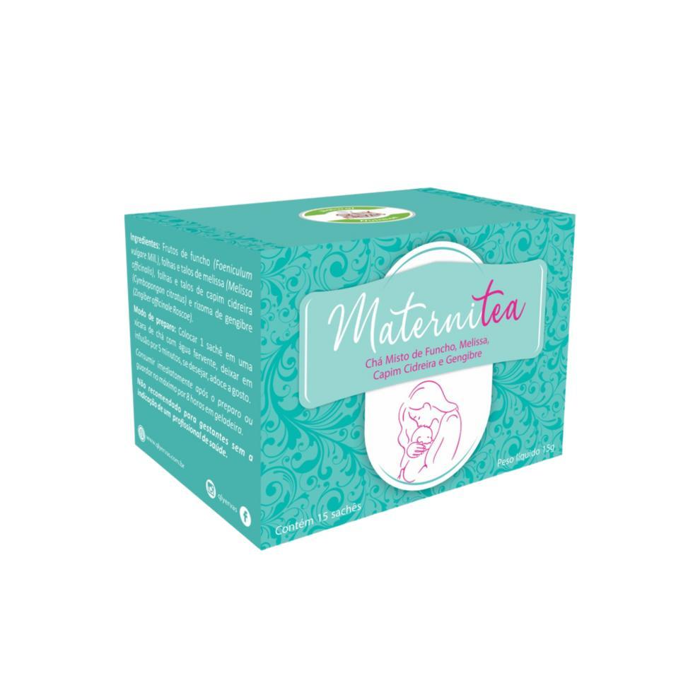 Maternitea Chá para Gestante - Melissa+Cidreira+Gengibre 15 Saches