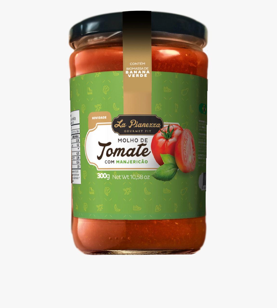 Molho de tomate manjericão