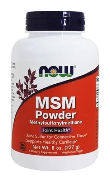 MSM - METILSULFONILMETANO EM PO - NOW - 227 G