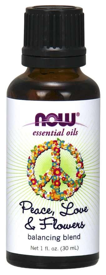 Oleo Essencial - Blend Ylang-Ylang, Laranja e Patchouli - NOW SOLUTIONS 30ml