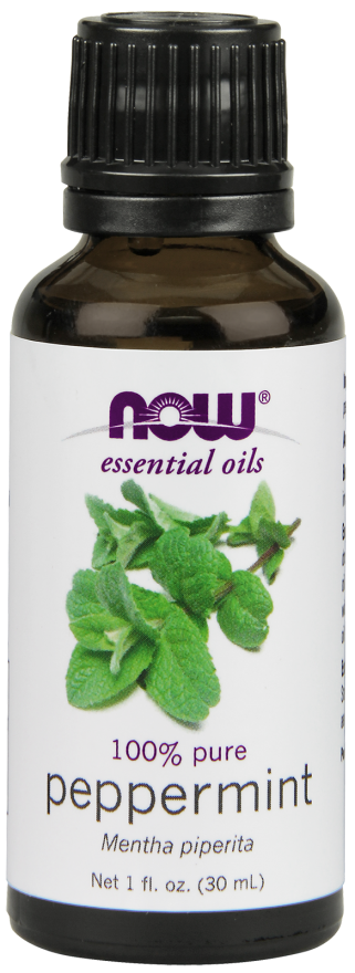 Oleo Essencial de Hortela-Pimenta NOW SOLUTIONS 30ml