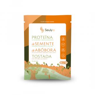Proteina de Semente de Abobora Tostada Souly  Sache de 34g