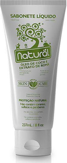 Sabonete Líquido Natural óleo de Coco e Extrato Romã