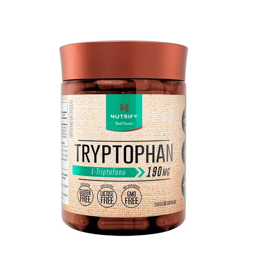 L-triptofano  60 capsulas