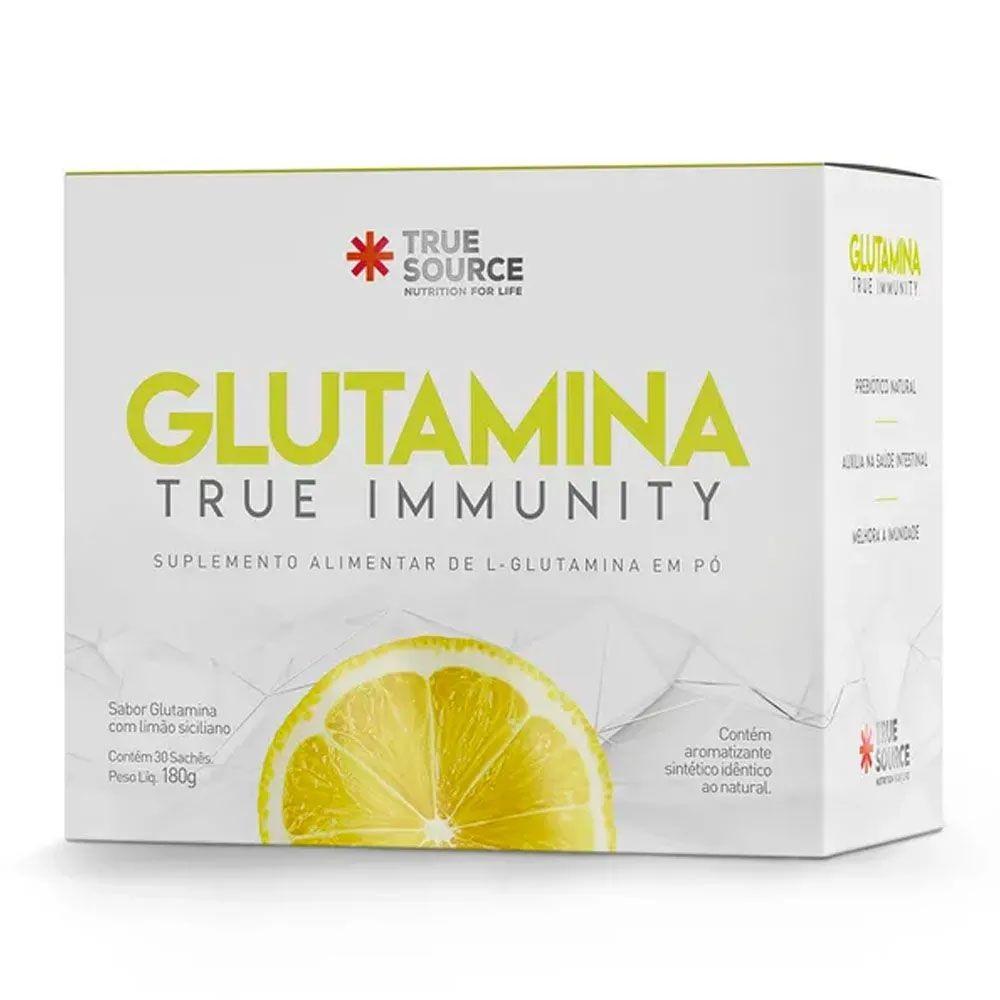 TRUE IMMUNITY GLUTAMINA + LIMÃO SICILIANO DESIDRATADO
