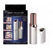 Kit com 10 Depiladores Faciais Femininos Heart Of Love Original