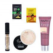 Kit de Maquiagem Ruby Rose / Play Boy para Pele C/ Brinde
