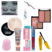 Kit Maquiagem Completo - Melhor Base Para Pele Ruby Rose