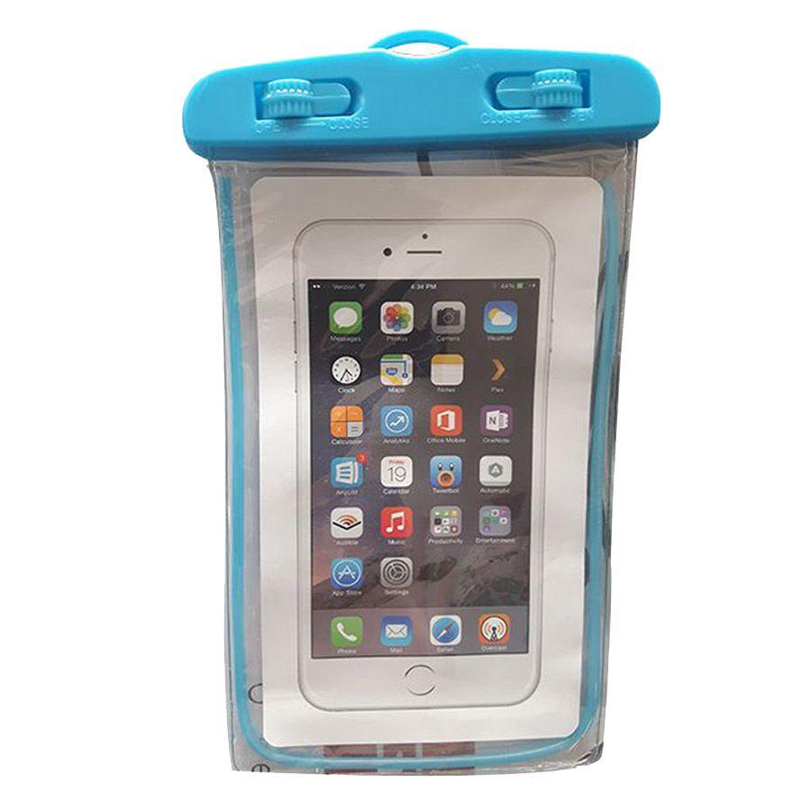 Capinha bolsa para celular a prova de água