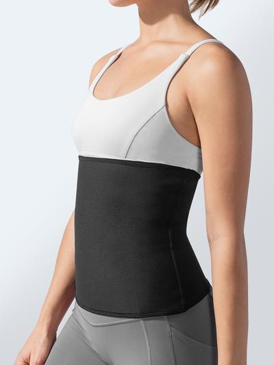 Cinta Elástica Abdominal Modeladora Hot Belt - Queima Gordura