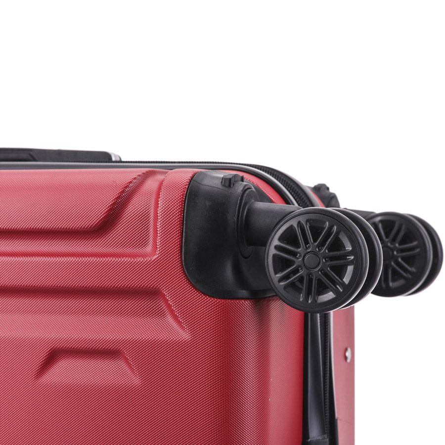 Kit C/ 5 Malas De Viagem Fibra ABS Anti Furto - 18106