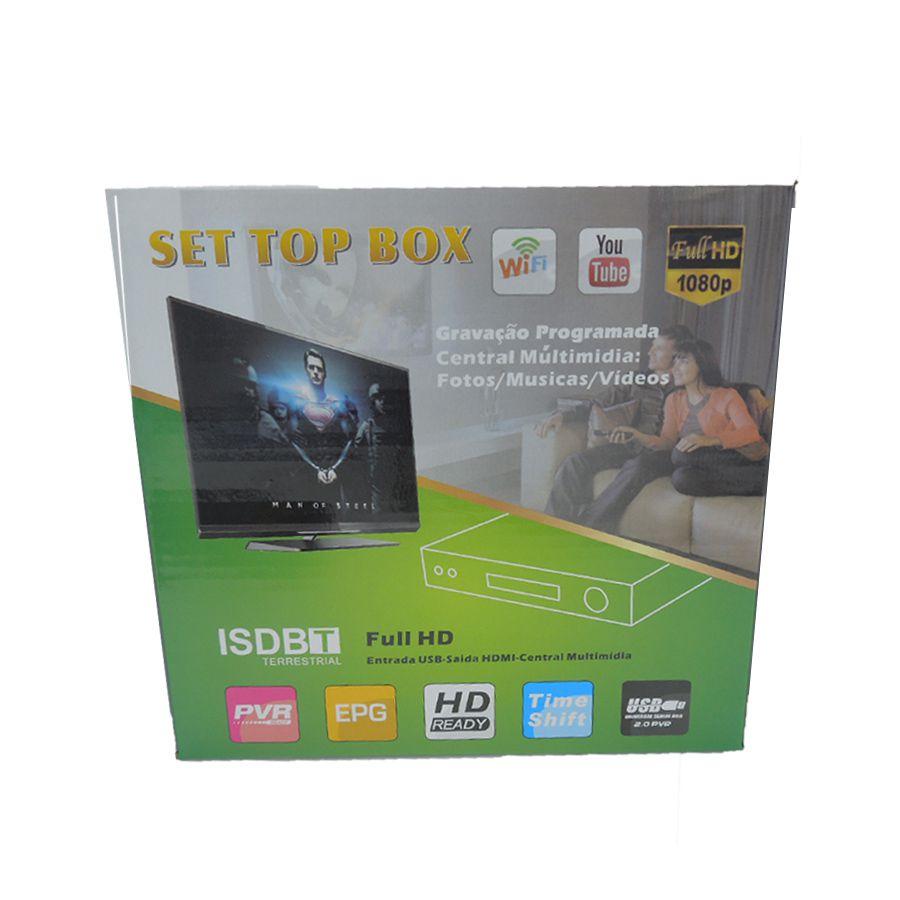 Conversor Digital Set Top Box ISDBT - LV-UW06K1