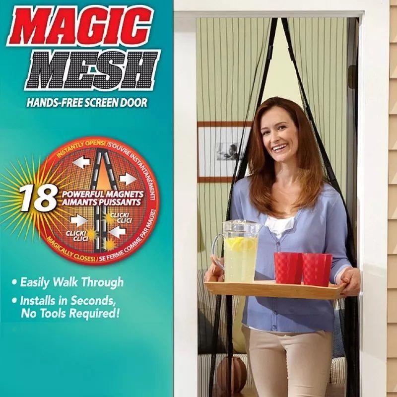 Cortina Magic Mesh Protetora Anti Insetos Original