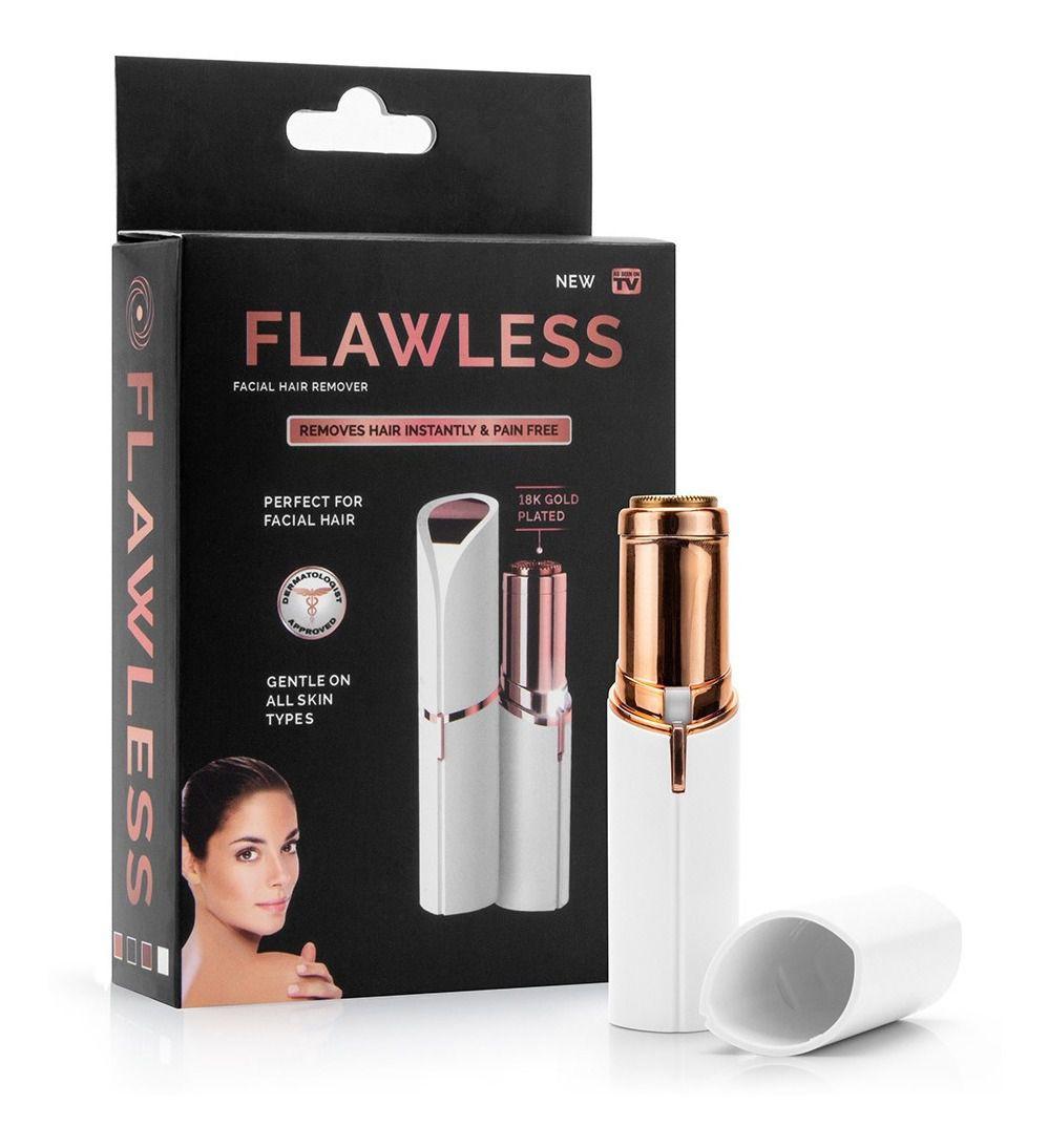 Depilador Facial Feminino Flawless - Batom Indolor Promoção