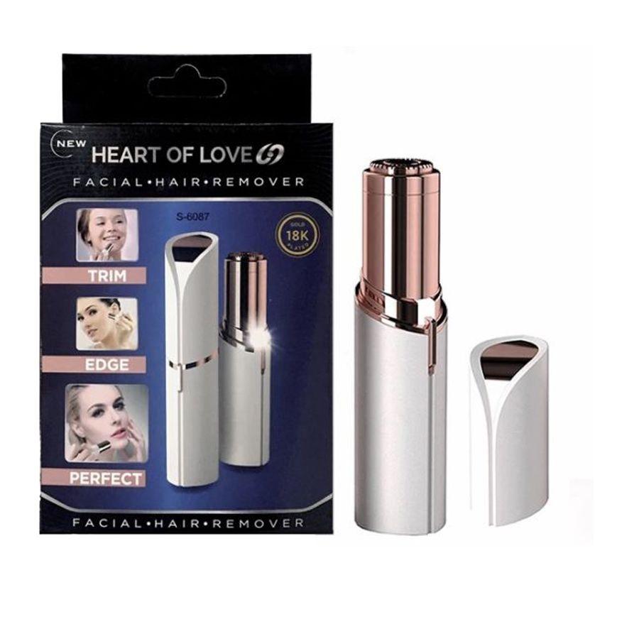 Depilador Facial Feminino Heart of Love Original