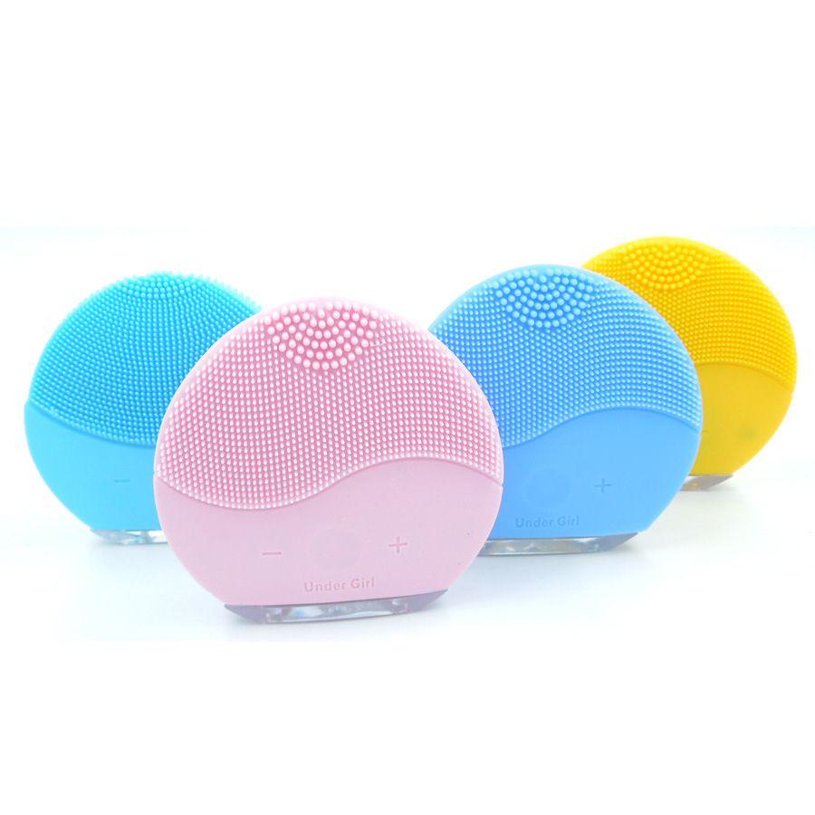 Escova De Limpeza Facial Recarregável USB Mini2