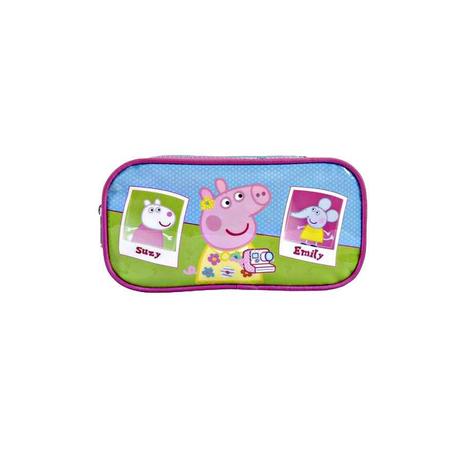 Estojo Escolar Duplo Peppa Pig Xeryus - 6945