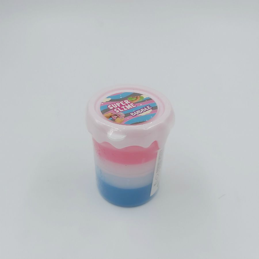 Kit 2 Gelecas Slime putty Bubble 3 cores