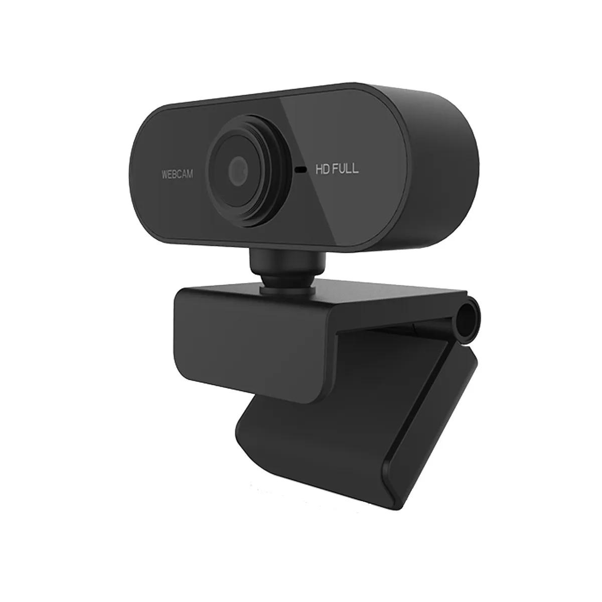 Kit c/ 4 Webcams Full HD 1080p com Microfone USB 2.0