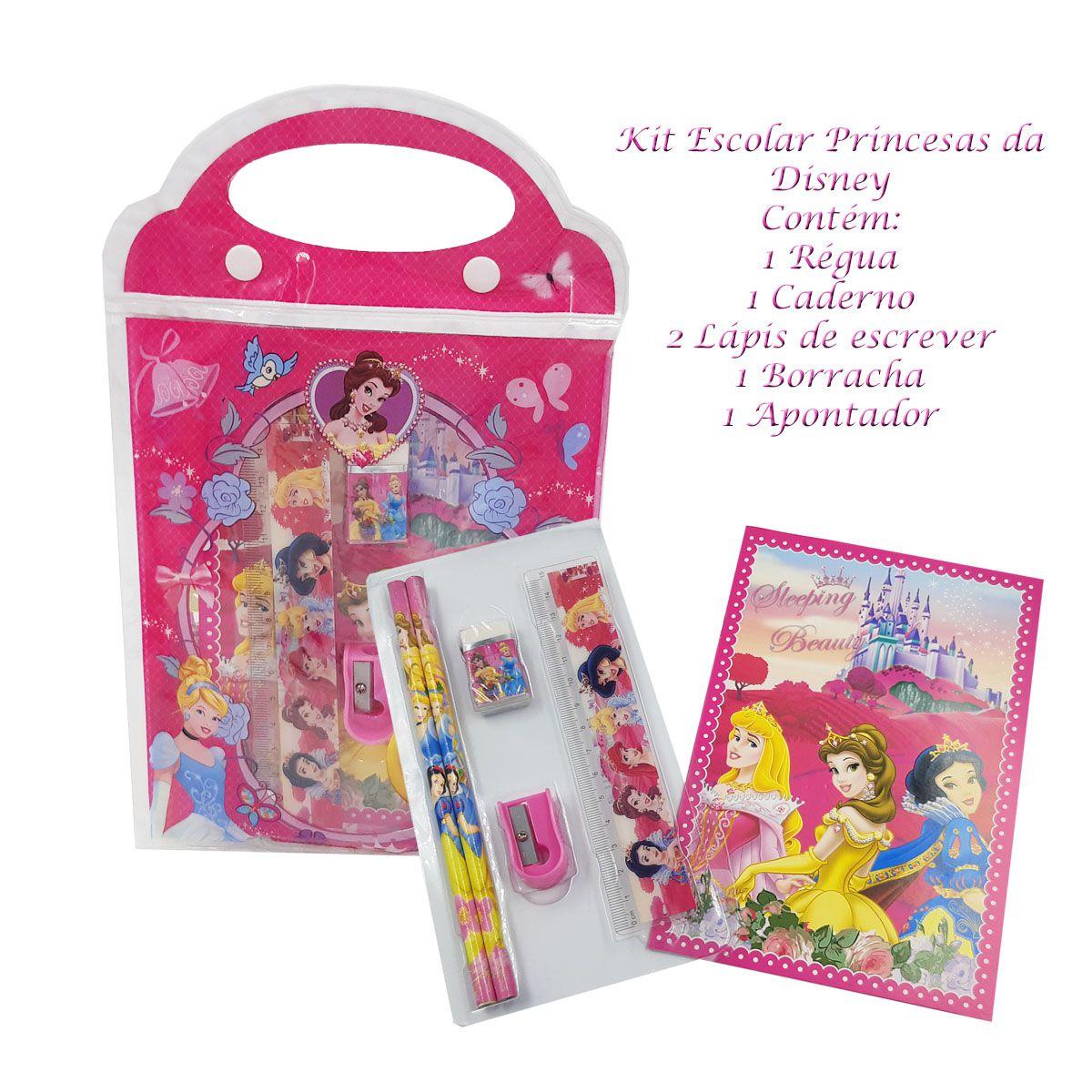 Kit com Mochila Costas + Estojo Escolar Shopkins SPK - 6822K3 + BRINDE