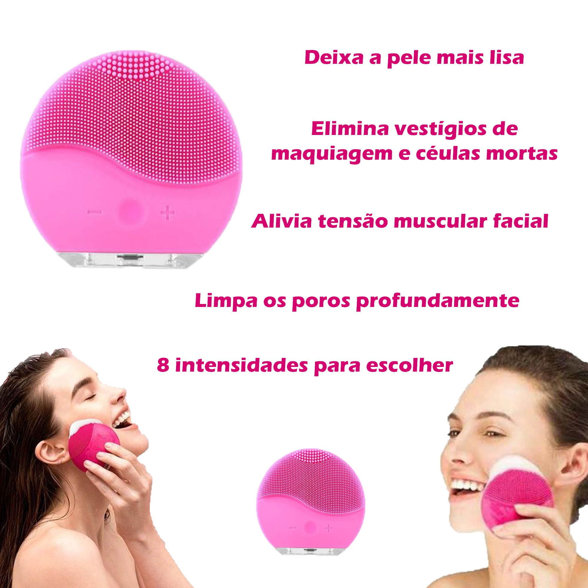 Kit Limpeza Facial - Cuidados com a pele / Heart Of Love