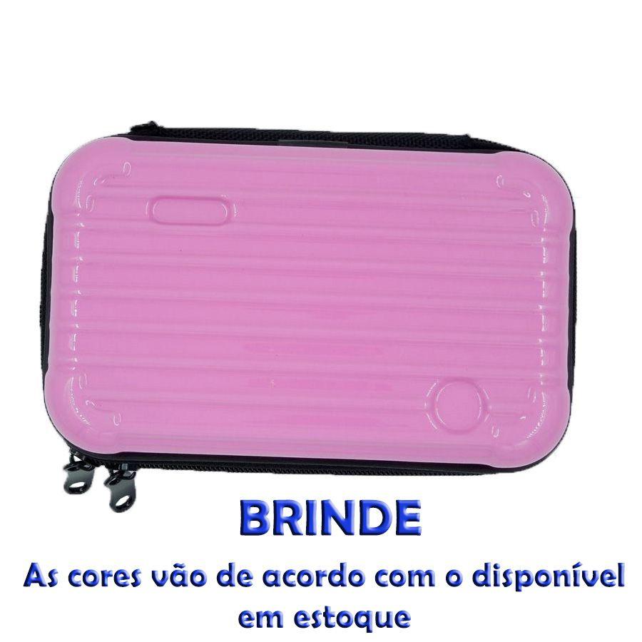 Kit Maquiagem Paleta de Sombra Luisance - C/BRINDES - 24 Produtos
