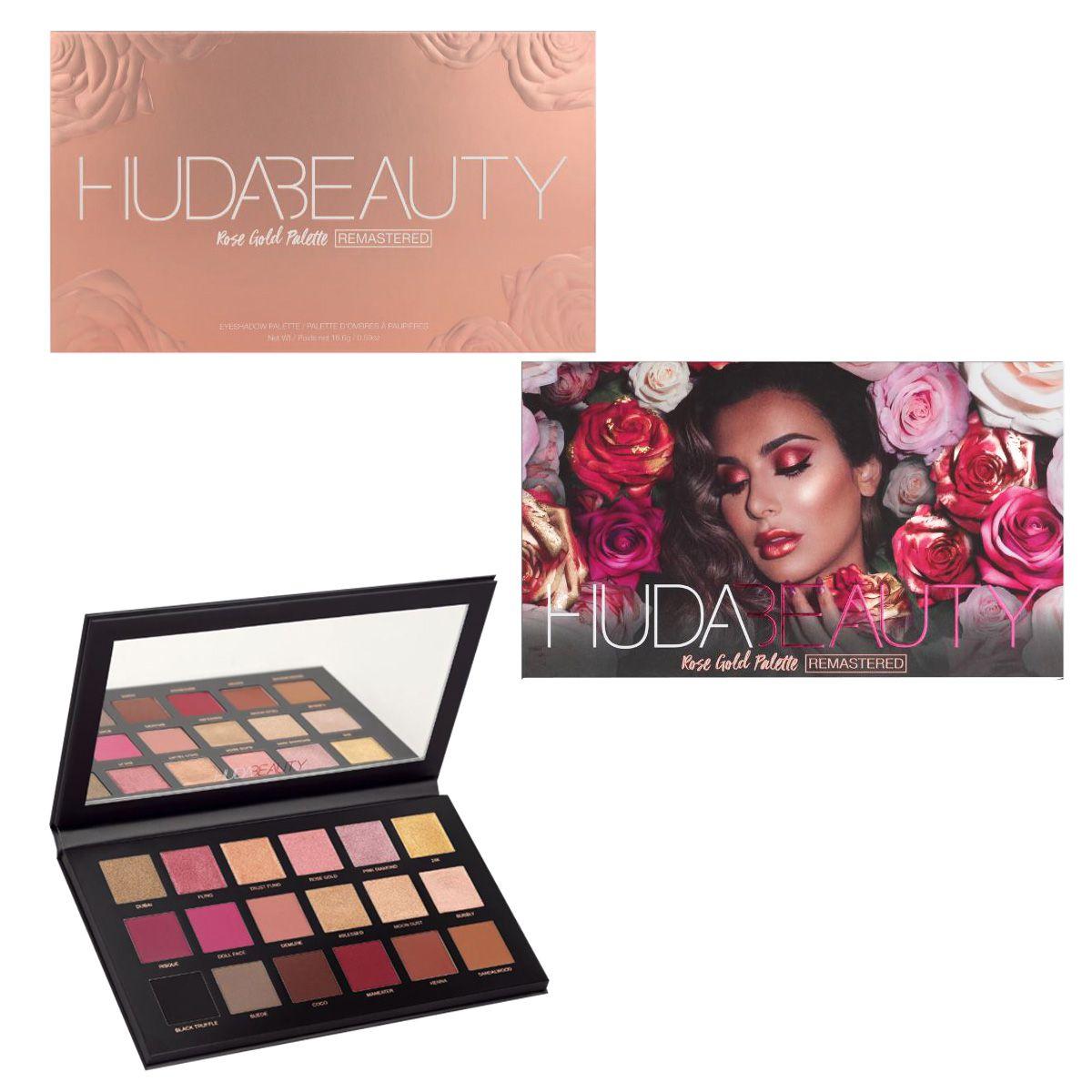 Kit Maquiagem Paletas De Sombra Huda Beauty