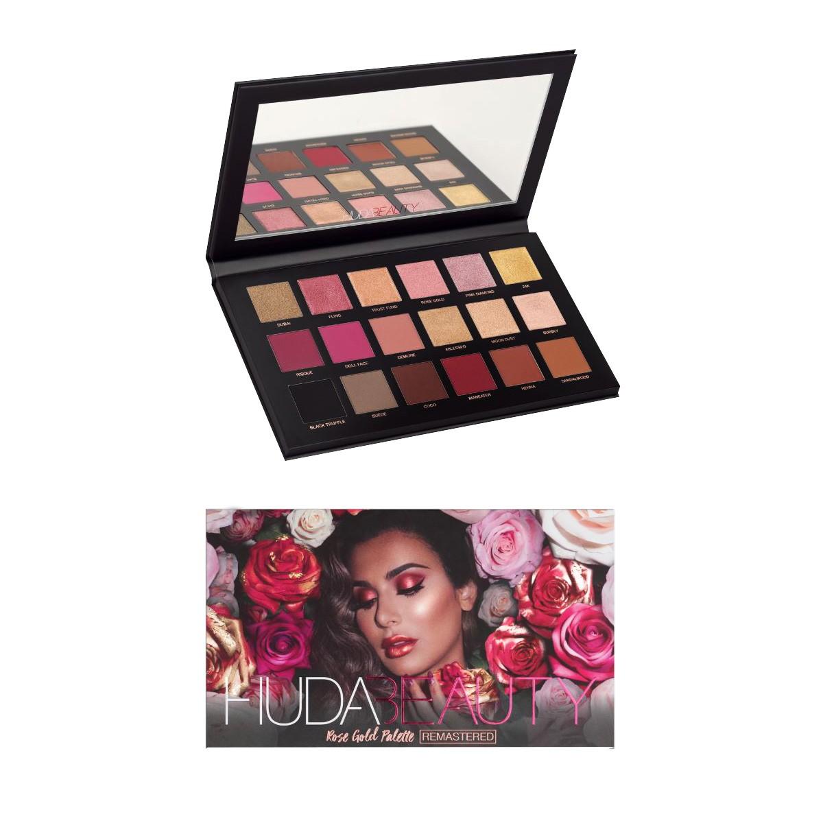 Kit Paletas De Sombra Para Maquiagem - Hud Beauty Luisance