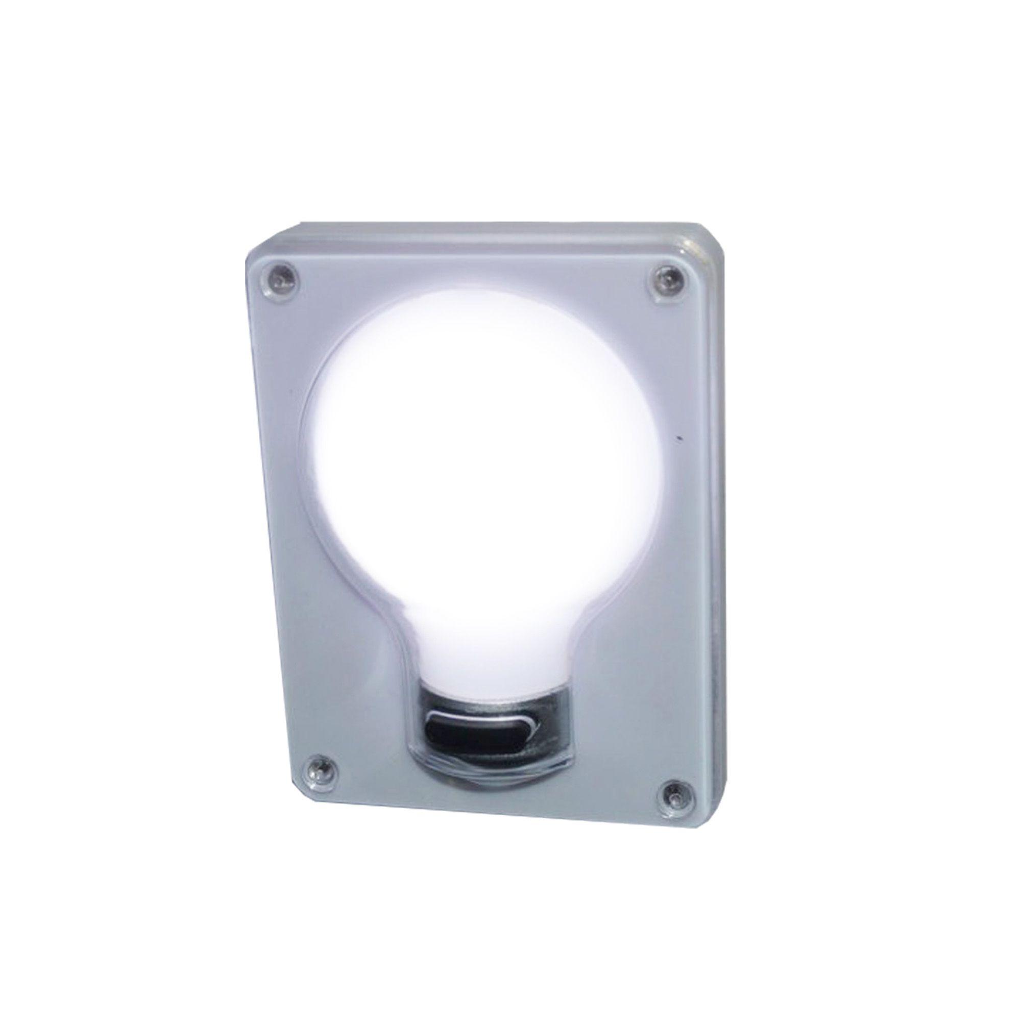 Lâmpadas Ultra LED P/ Colocar Na Parede/Armário - COB