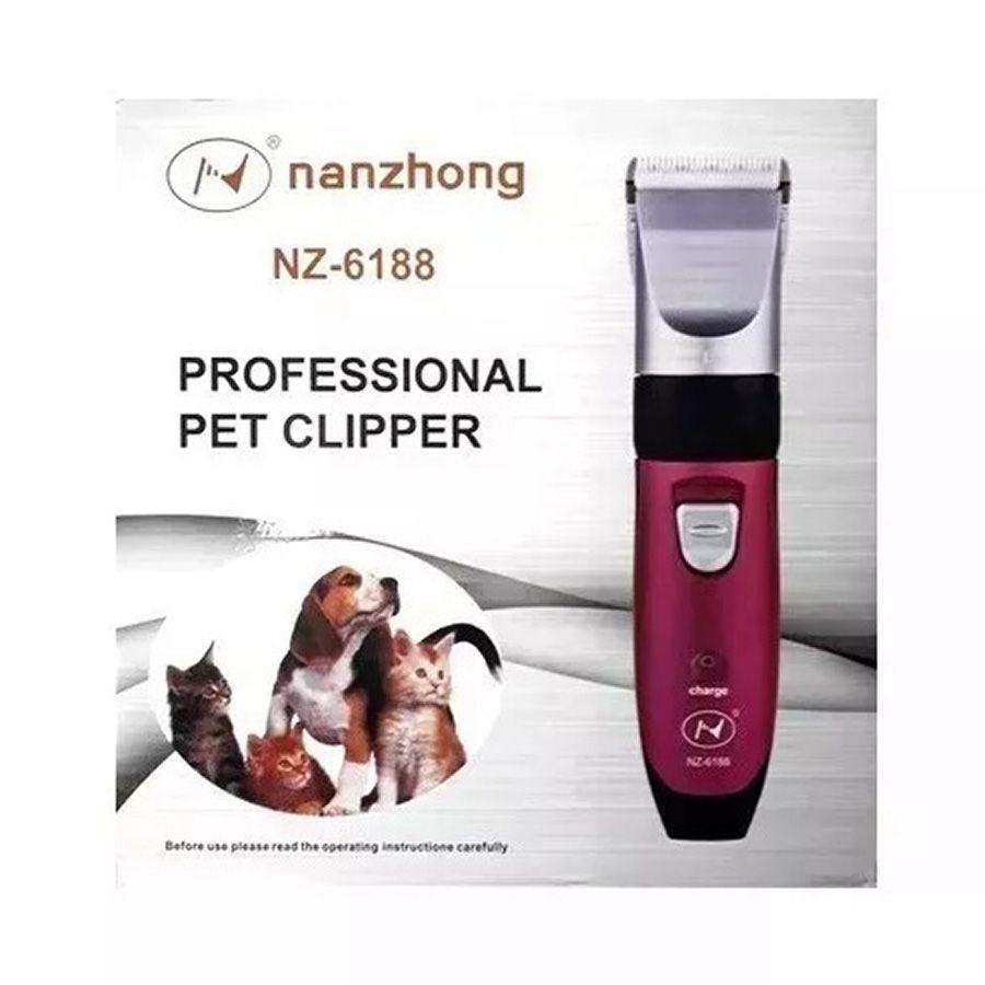 Máquina de Tosa Pet Clipper Cães Bivolt - Nanzhong NZ-6188