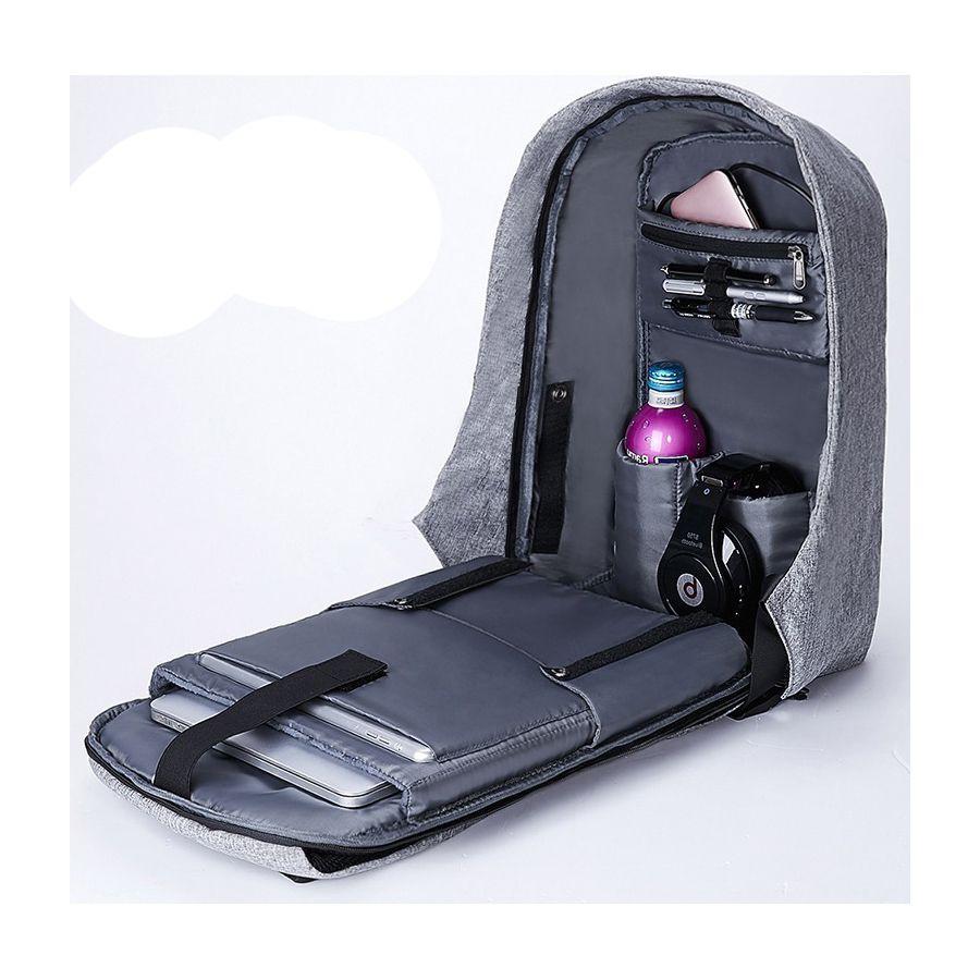 Mochila Anti Furto Notebook USB Impermeável SWISSLAND - YS28057