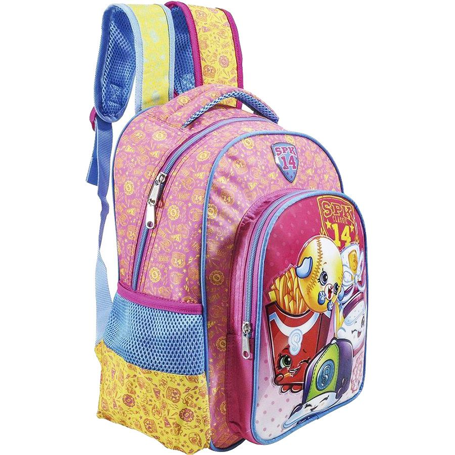 Mochila Escolar Infantil Shopkins Spk - 6822