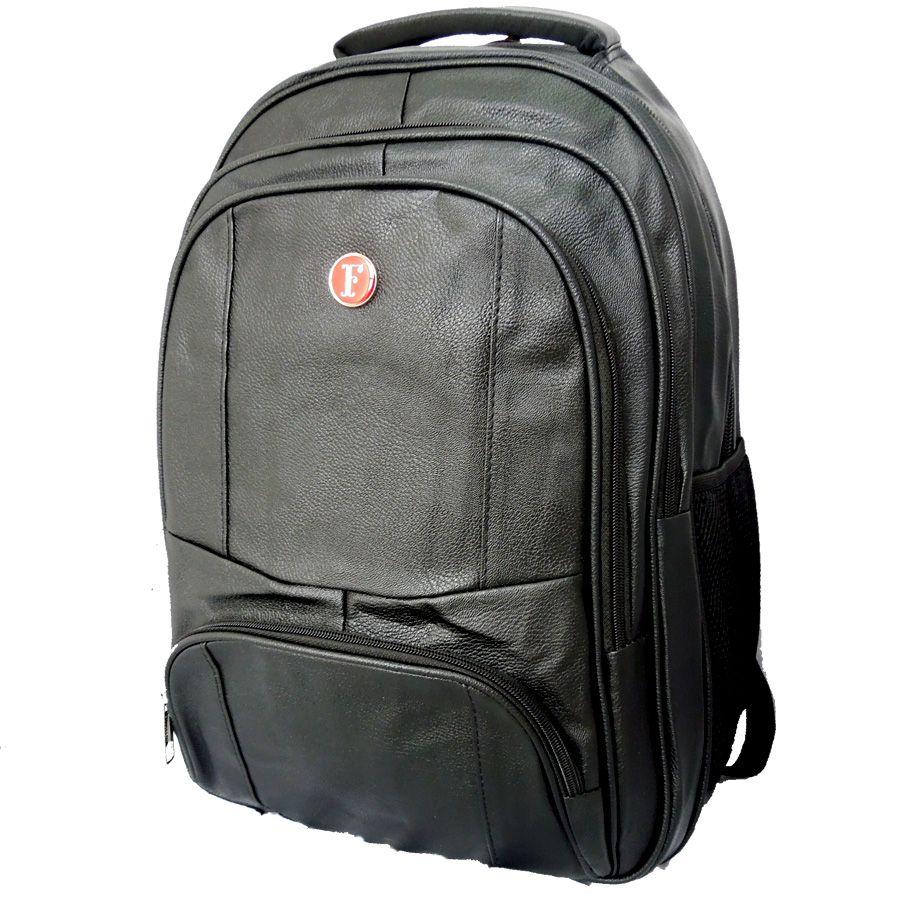 Mochila Fullocean PU com Compartimento para Notebook -17821