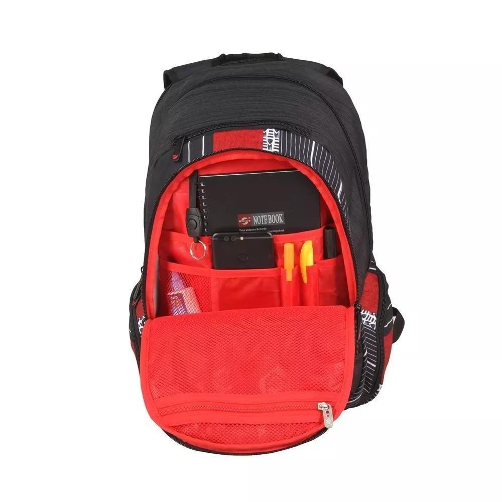 Mochila Notebook Escolar Hang Loose- HLB 1250 Vermelho