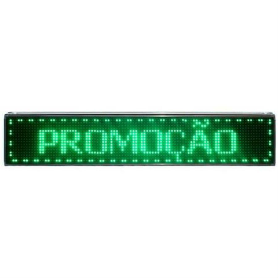 Painel D/ Led Luminoso Letreiro Digital 1 M X 20 Cm - P01