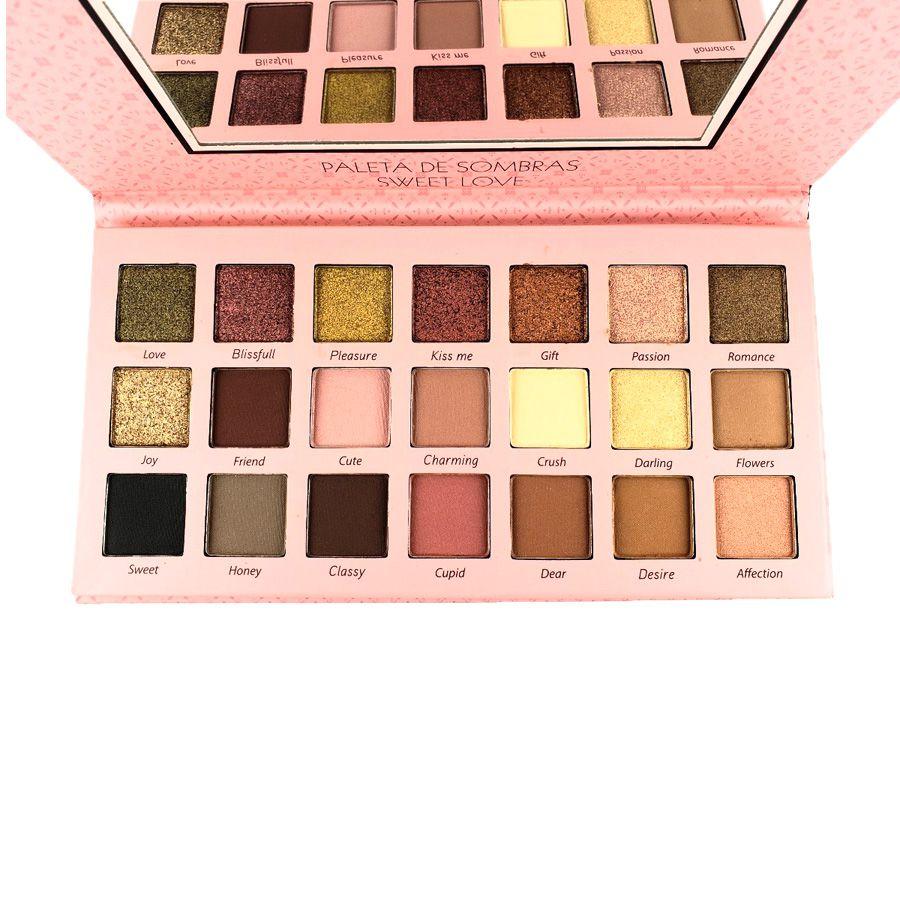 Paleta De Sombra Luisance Sweet Love - l1057