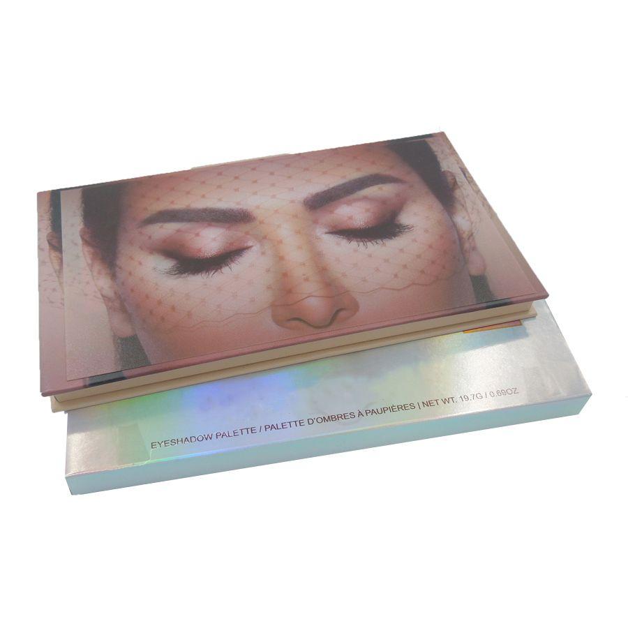 Paleta de Sombra Profissional Nud com 18 Cores - 2888A1
