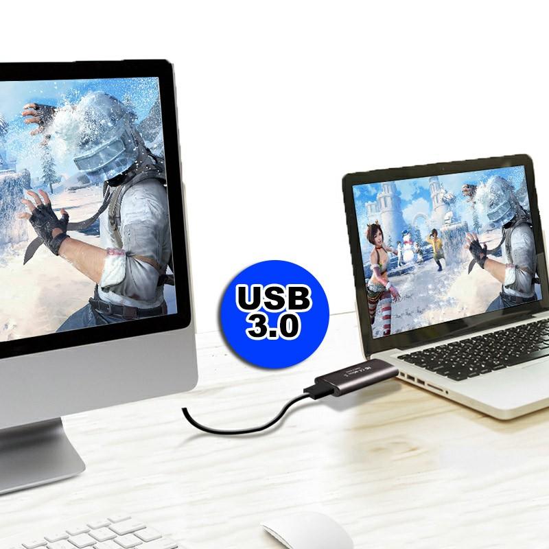 Placa de Captura HDMI USB 3.0 PS4/PC/XBOX Streaming