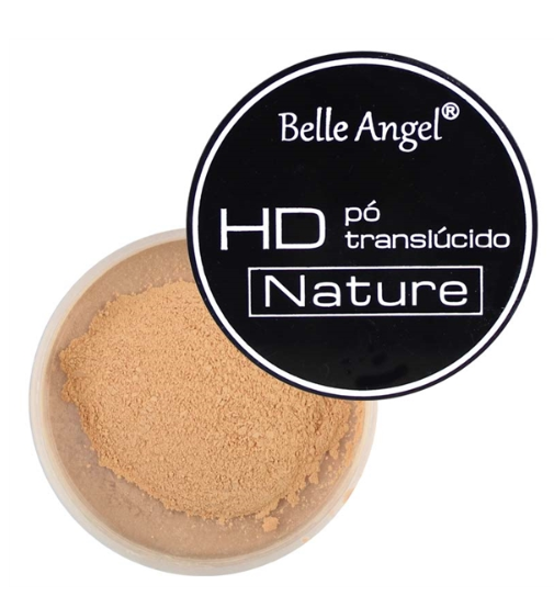 Pó Translúcido HD Nature Micro Acabamento - Belle Angel