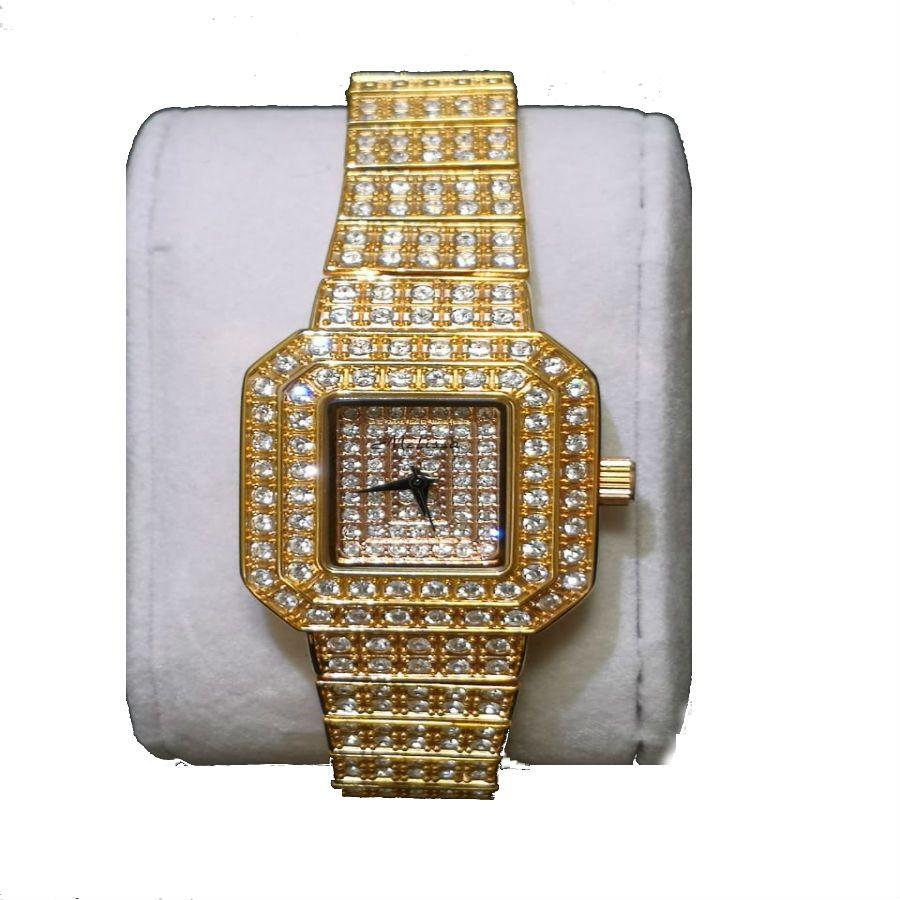 Relógio Feminino Japan Quartz - Cristal Swarovski - Swk003