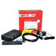 3 Receptores Sky Pré-Pago Flex HD  com Conectividade HDMI