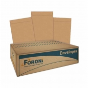 Envelope Saco Kraft Natural 80g 185x248mm Caixa com 100 Unidades Foroni