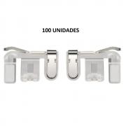 Kit 100 Adaptadores Gatilho L1 R1 para celular Garena Free Fire