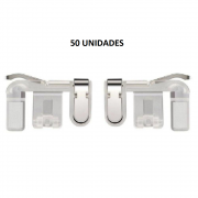 Kit 50 Adaptadores Gatilho L1 R1 para celular Garena Free Fire