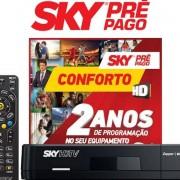 Receptor SKY HD Conforto 24 meses sem mensalidade com Globo e SBT