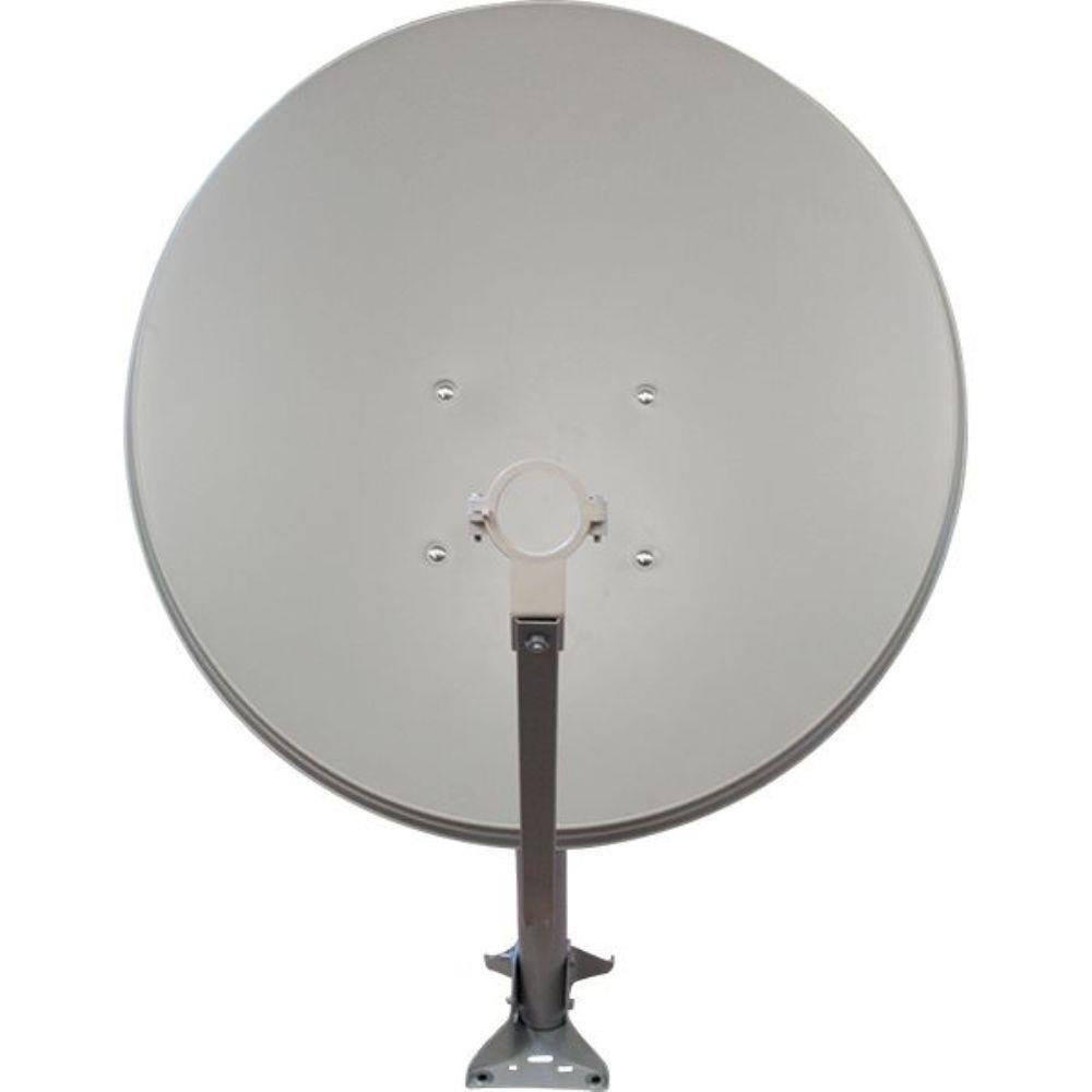 Antena  Original Banda Ku 60 cm  + LNBF Simples + Kit Fio 17 m