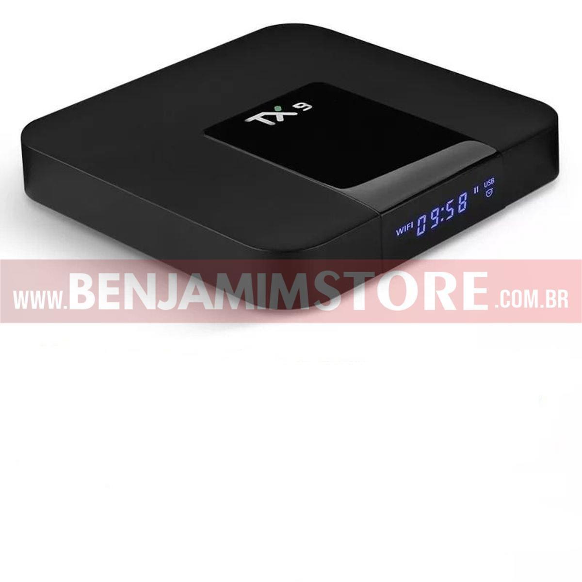 Aparelho que transforma tv em smart  TX9 4k 4gb de ram + 32 gigas de armazenamento + Teclado Led