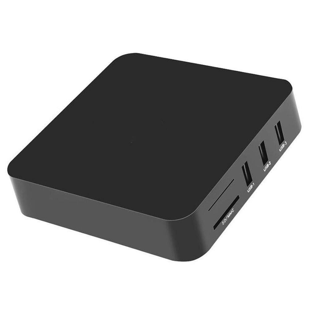 Aparelho Transforma TV em Smart 4K 5G 4GB de RAM e 64de ROM + Mini Teclado LED Wireless