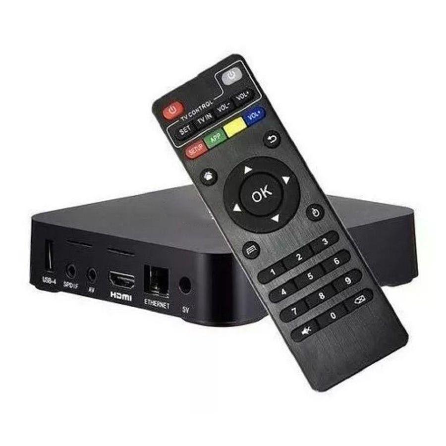 Aparelho Transforma TV em Smart 4K 5G 8GB de RAM e 128 de ROM + Mini Teclado LED Wireless